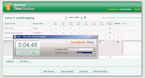 New features in QuickBooks 2006